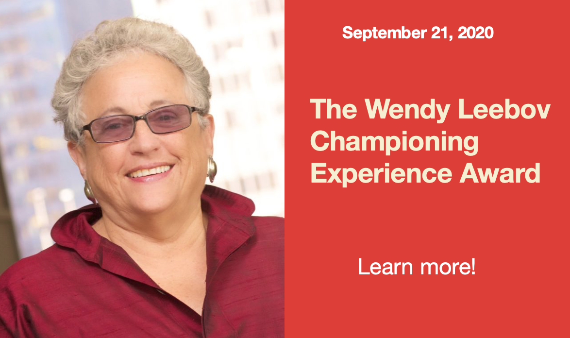 https: -  - languageofcaring.org - wendy leebov championing experience award